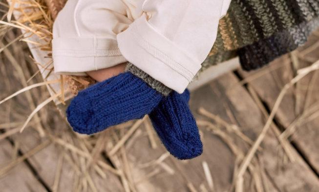 Strickanleitung Für Babysöckchen Größe Neugeboren Kleidergröße