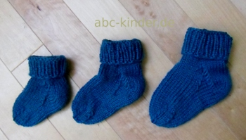 strickanleitung f r babysocken einfach selbst gestrickt. Black Bedroom Furniture Sets. Home Design Ideas