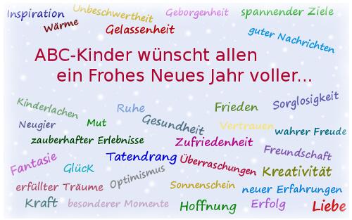 Ein Frohes Neues Jahr! - ABC Kinder - Blog für Eltern