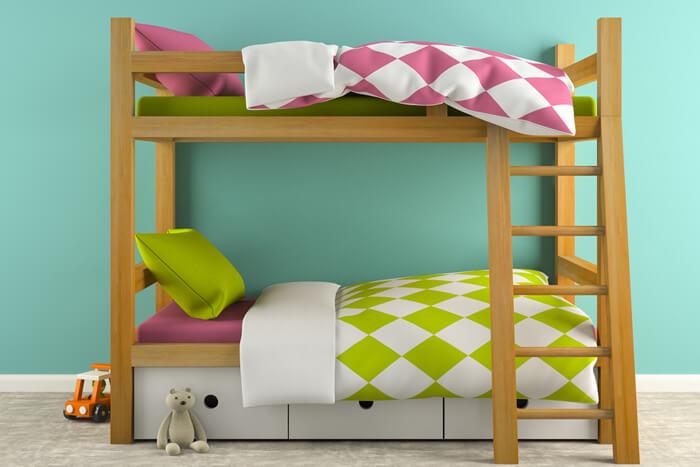 zwei kinder aber nur ein kinderzimmer dann ist nicht guter rat teuer sondern kreativit t. Black Bedroom Furniture Sets. Home Design Ideas